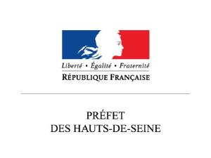 Logo Préfecture des Hauts de Seine